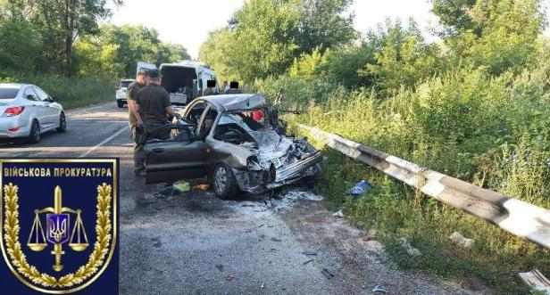 Вантажівка Нацгвардії потрапила в аварію на Дніпропетровщині: загинули люди