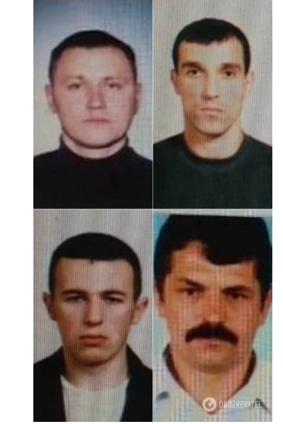 Члены банды луцкого террориста