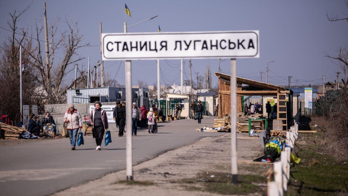 Пенсионер умер на КПВВ Станица Луганская - новости Донбасса