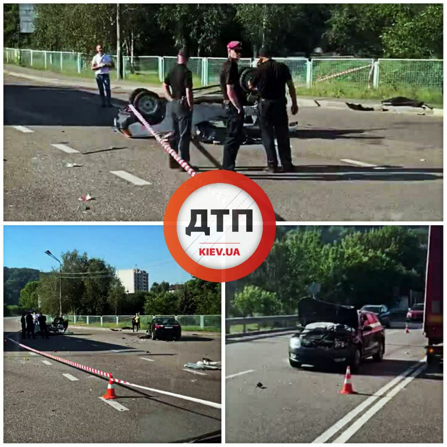Під Києвом сталася страшна ДТП: авто розірвало на шматки — фото, відео