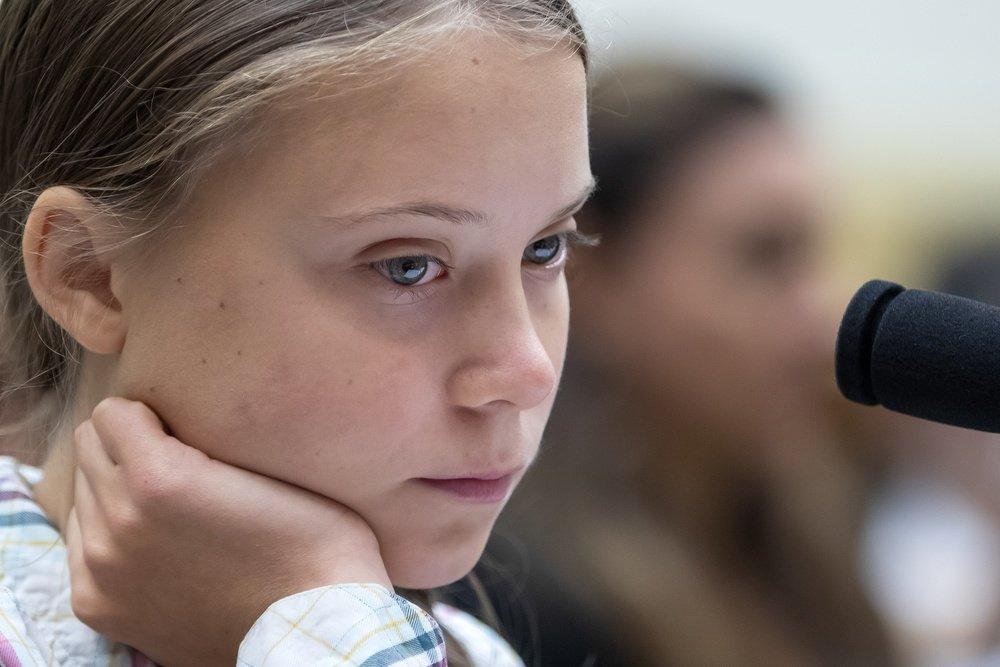«Выходят зарамки». Грета Тунберг призвала американцев голосовать заБайдена